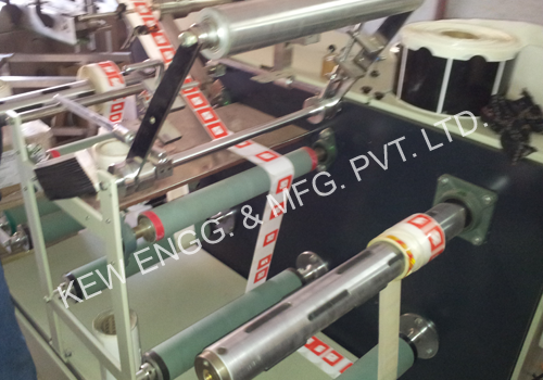 Winding Rewinding Slitting Machine with One Stage Slitting