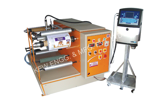 Film Winding Rewinding Machine For Batch Coding