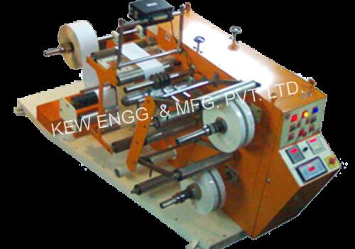 Winding Rewinding Machine With Slitting System