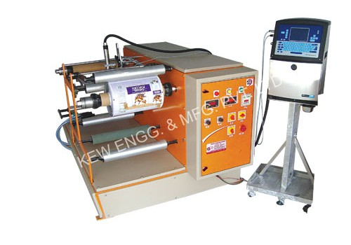 Winding Rewinding Machine For Batch Printing