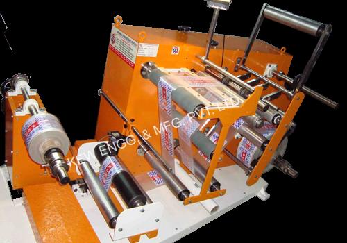 Slitting Rewinding Machine for Batch Printing / Coding