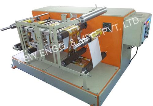 Winding Rewinding Machine With Thermal Transfer Overprinter